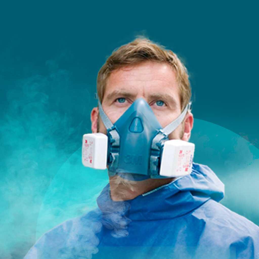 Защита дыхания 3М
